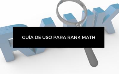Gran guía de uso para Rank Math